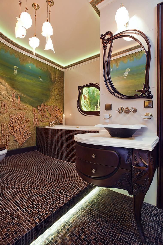 интерьер ванной - фото № 45479