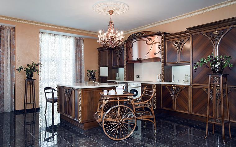 Квартира. кухня из проекта , фото №45481