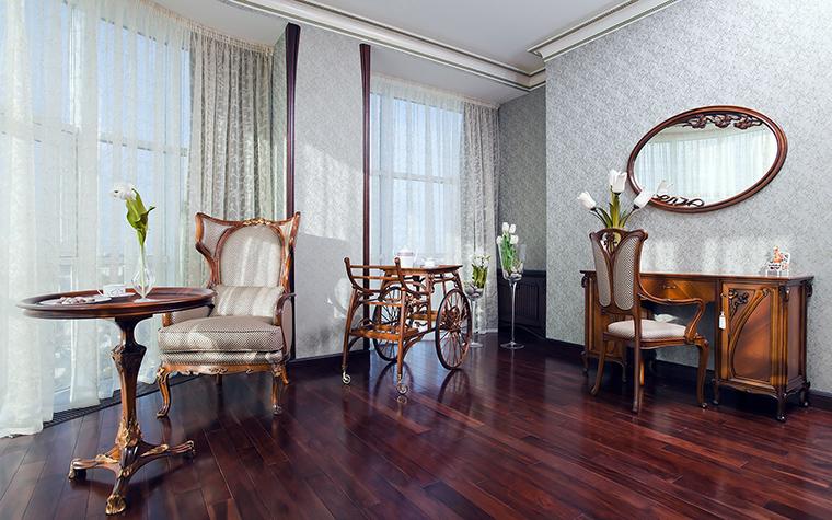 Квартира. спальня из проекта , фото №45472