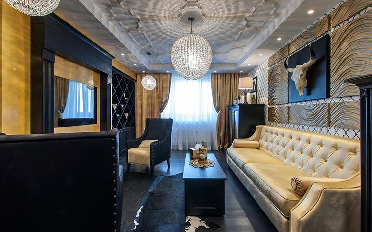 интерьер гостиной - фото № 45484