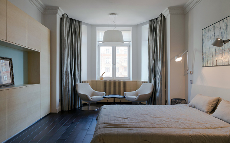интерьер спальни - фото № 45629