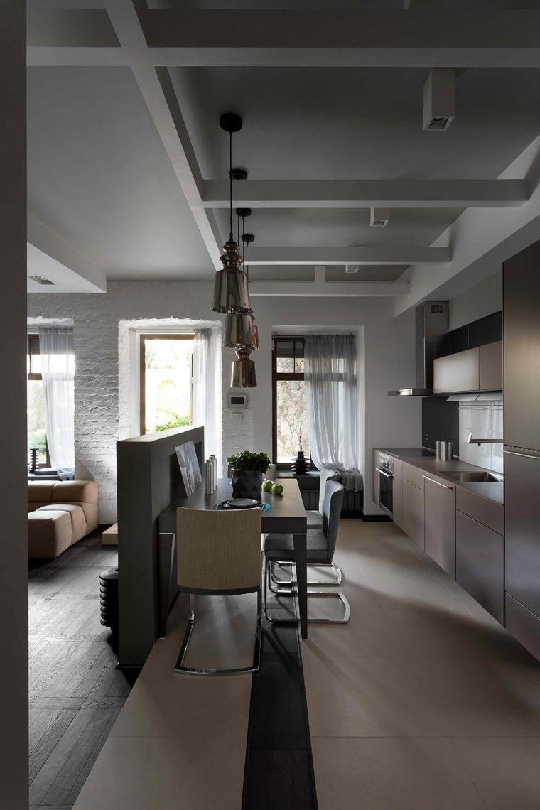 Загородный дом. кухня из проекта , фото №45644