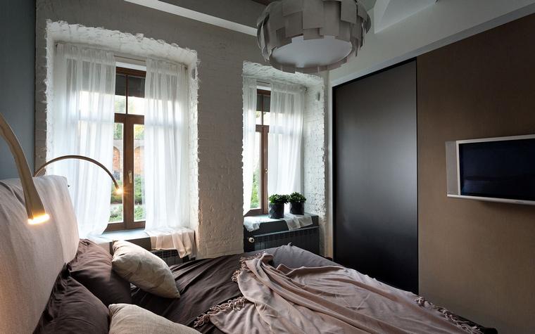 Загородный дом. спальня из проекта , фото №45650