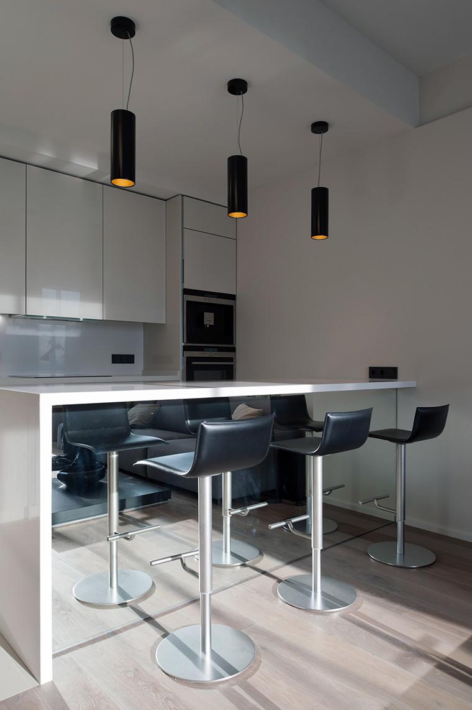 Фото № 45766 кухня  Квартира