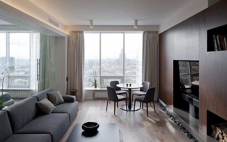 интерьер гостиной - фото № 45730