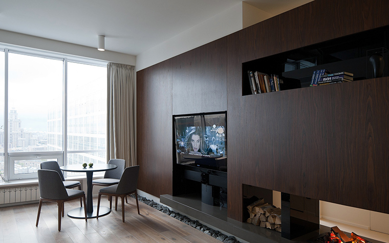 интерьер гостиной - фото № 45744