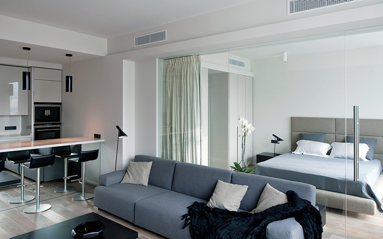 Фото № 45732 гостиная  Квартира