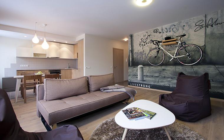 Квартира. гостиная из проекта , фото №45841