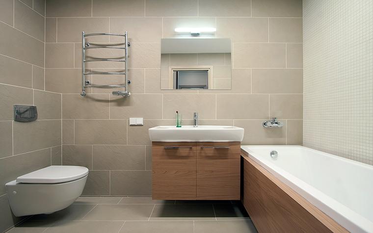 Квартира. ванная из проекта , фото №45851