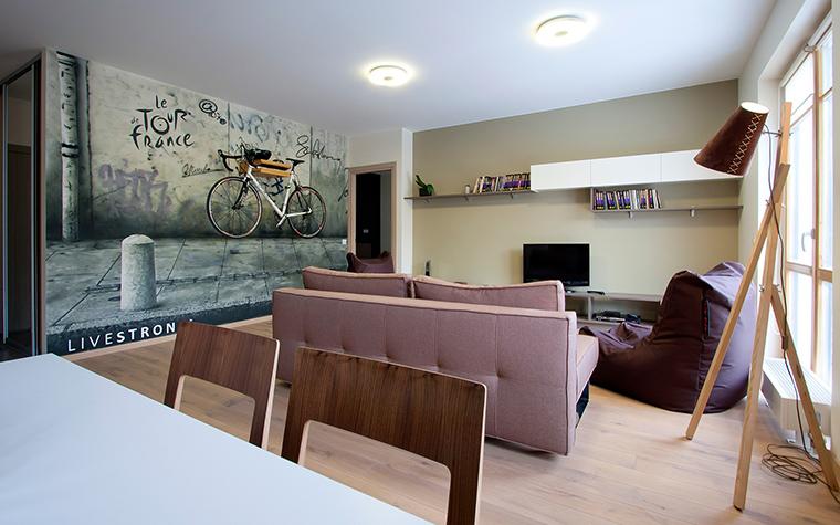 Квартира. гостиная из проекта , фото №45842