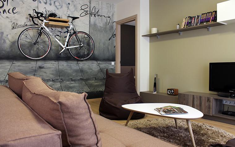 Квартира. гостиная из проекта , фото №45843