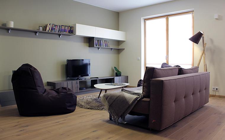 Квартира. гостиная из проекта , фото №45844
