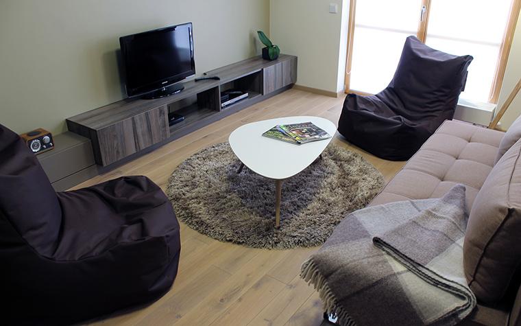 Квартира. гостиная из проекта , фото №45845