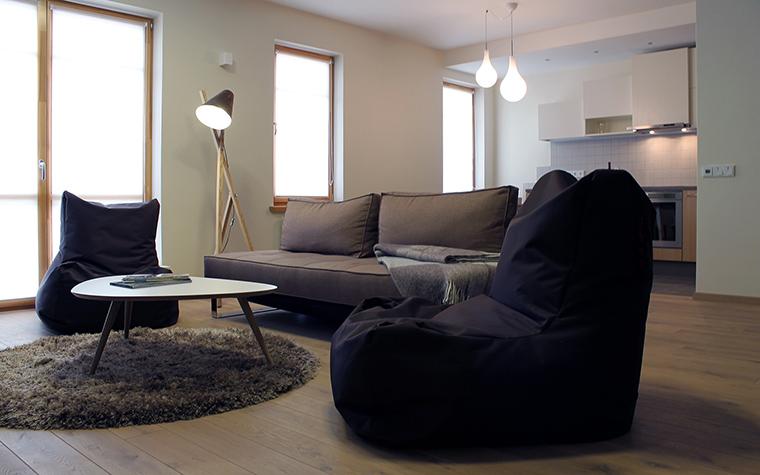 Квартира. гостиная из проекта , фото №45846