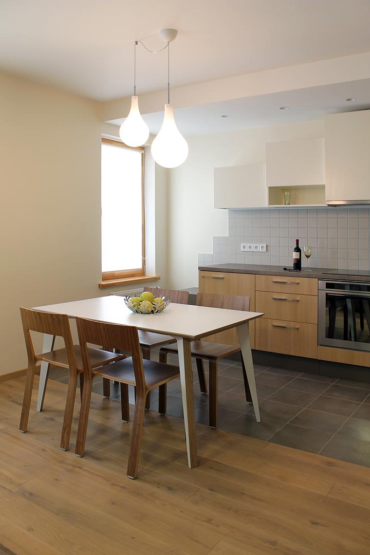 Квартира. столовая из проекта , фото №45849