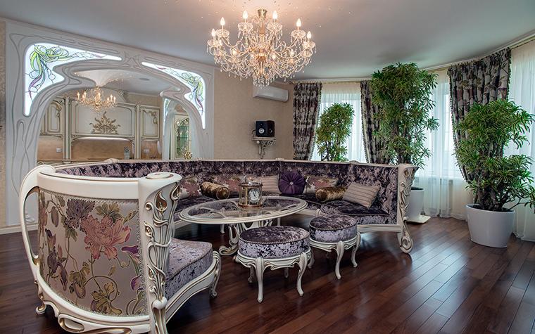 интерьер гостиной - фото № 45905