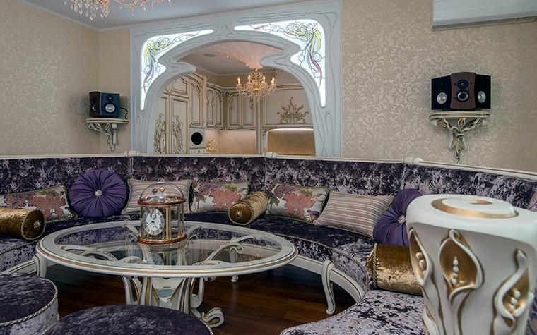 интерьер гостиной - фото № 45906
