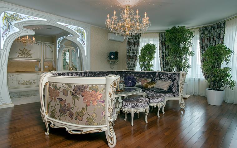 интерьер гостиной - фото № 45907