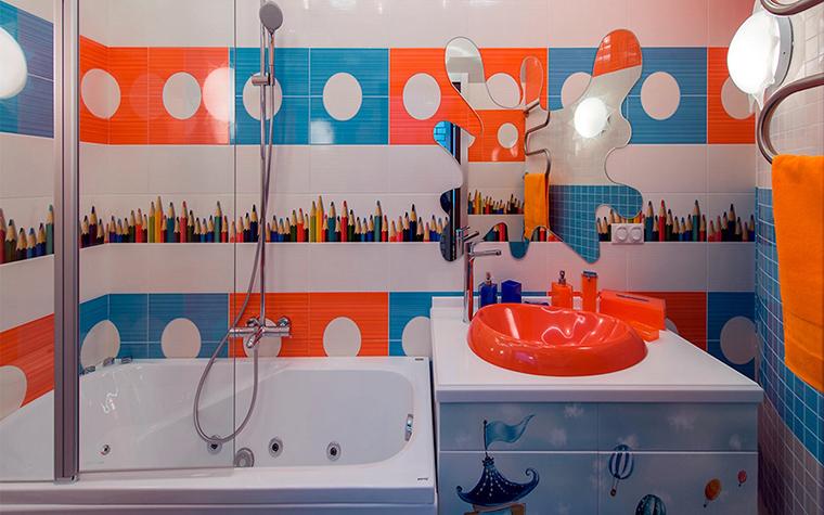 Квартира. ванная из проекта , фото №45984