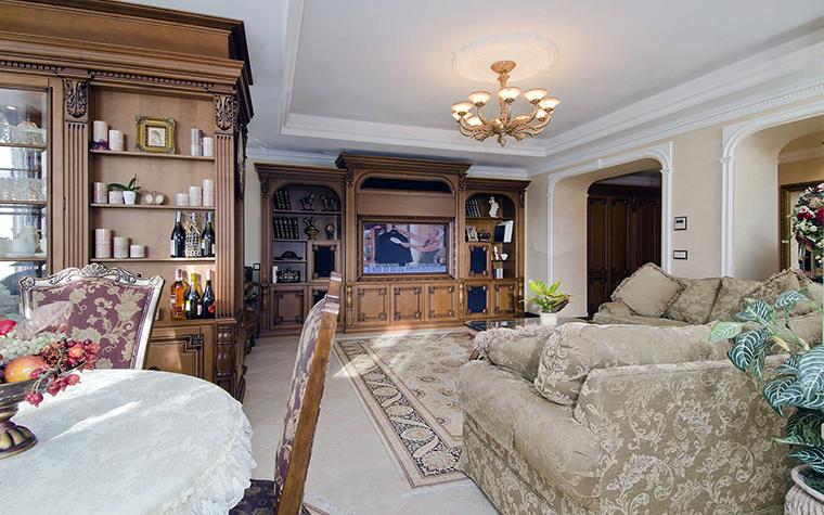 Фото № 46009 гостиная  Квартира