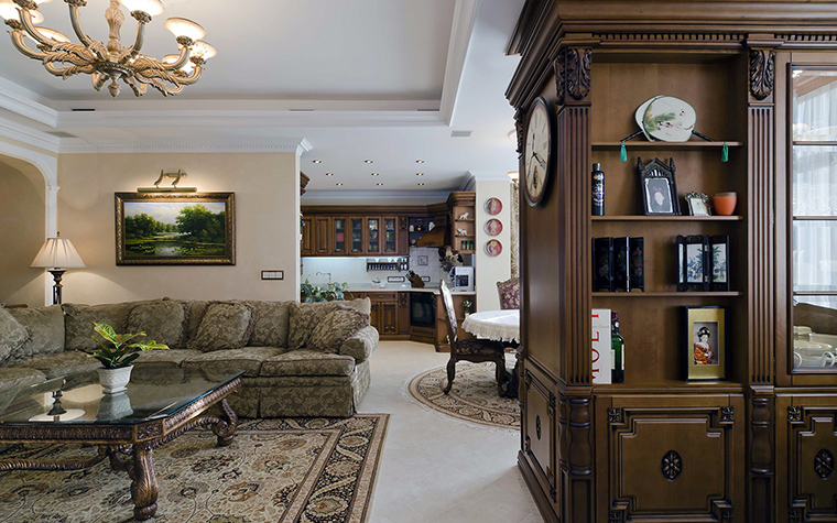 Фото № 46012 гостиная  Квартира