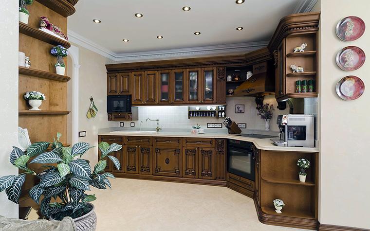 Фото № 46016 кухня  Квартира
