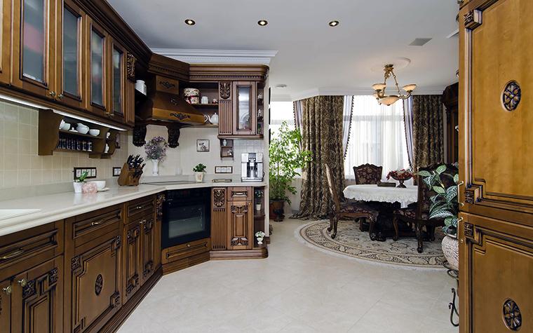 Фото № 46017 кухня  Квартира