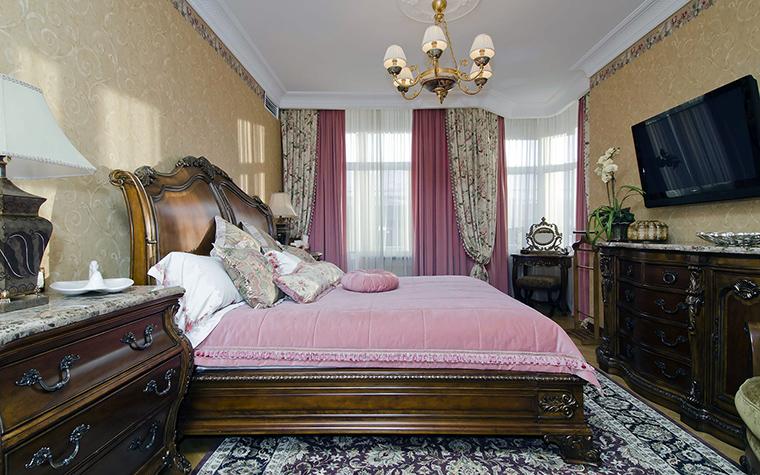 интерьер спальни - фото № 46018
