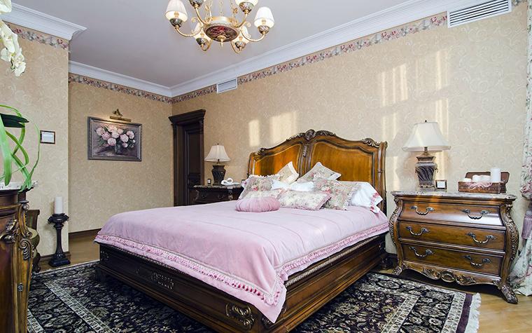 интерьер спальни - фото № 46019