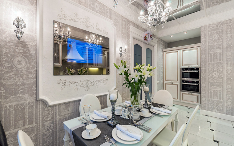 Фото № 46046 кухня  Квартира