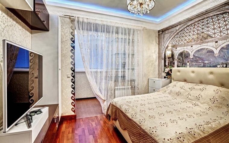 Фото № 46074 спальня  Квартира