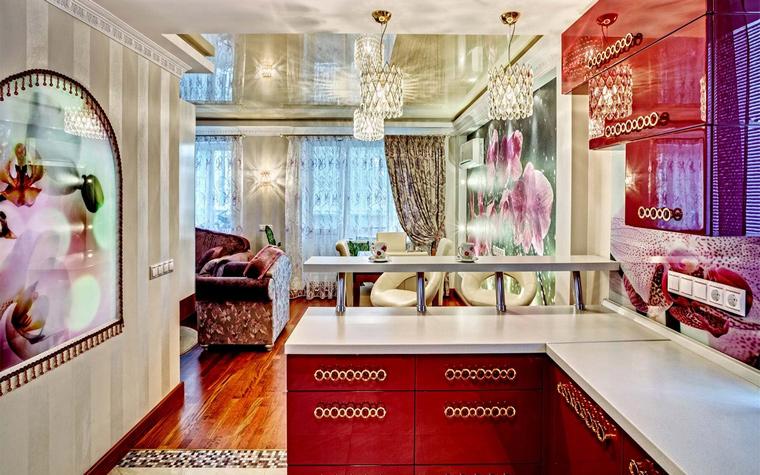 Фото № 46072 кухня  Квартира