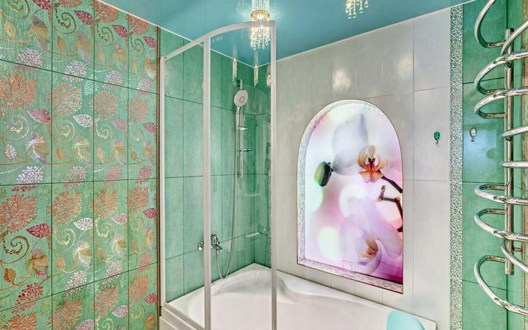 Фото № 46076 ванная  Квартира