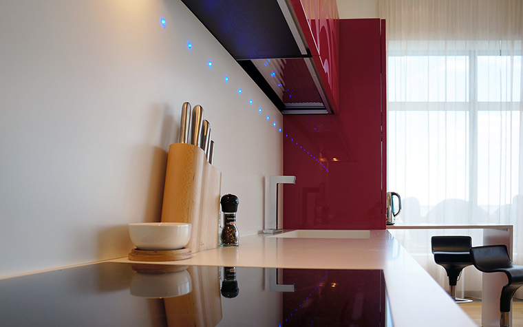 Фото № 46115 кухня  Квартира