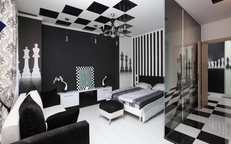 интерьер спальни - фото № 46113