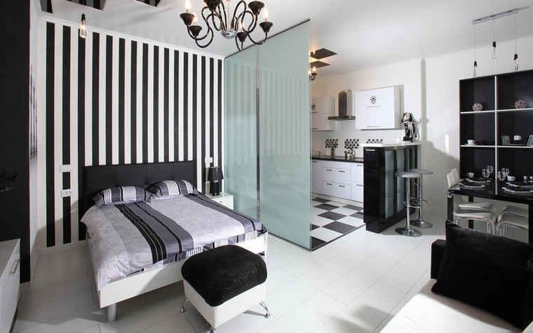 интерьер спальни - фото № 46114