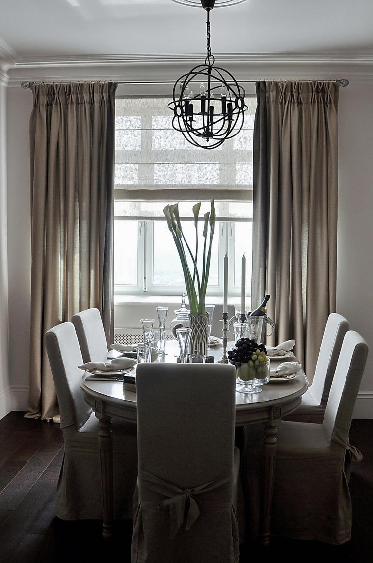 Квартира. столовая из проекта , фото №46159