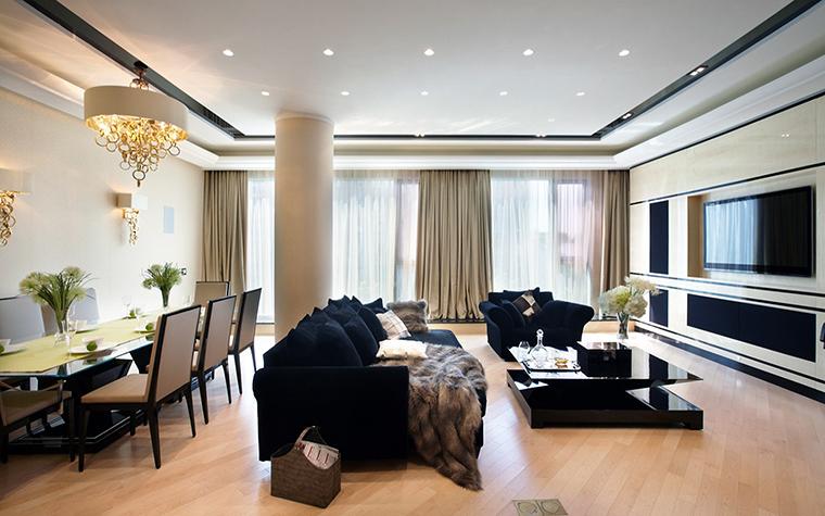 Фото № 46178 гостиная  Квартира