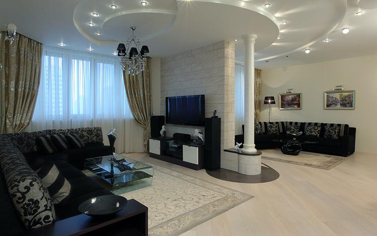 Квартира. гостиная из проекта , фото №46253