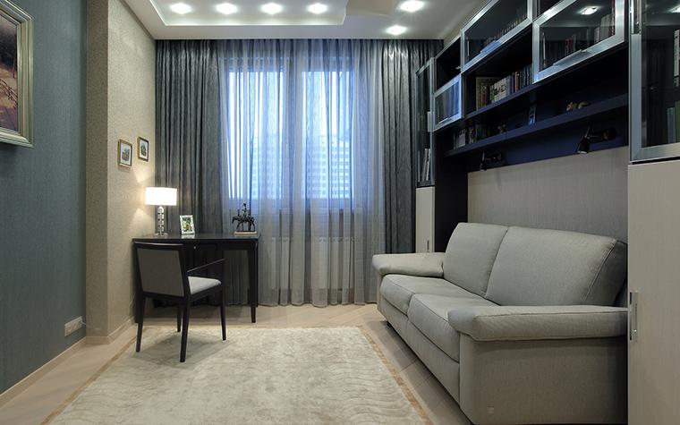 Квартира. кабинет из проекта , фото №46263