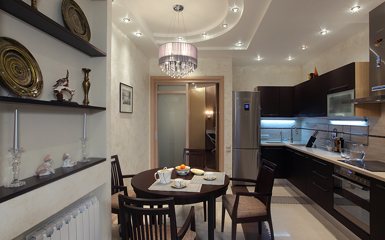 Квартира. кухня из проекта , фото №46264