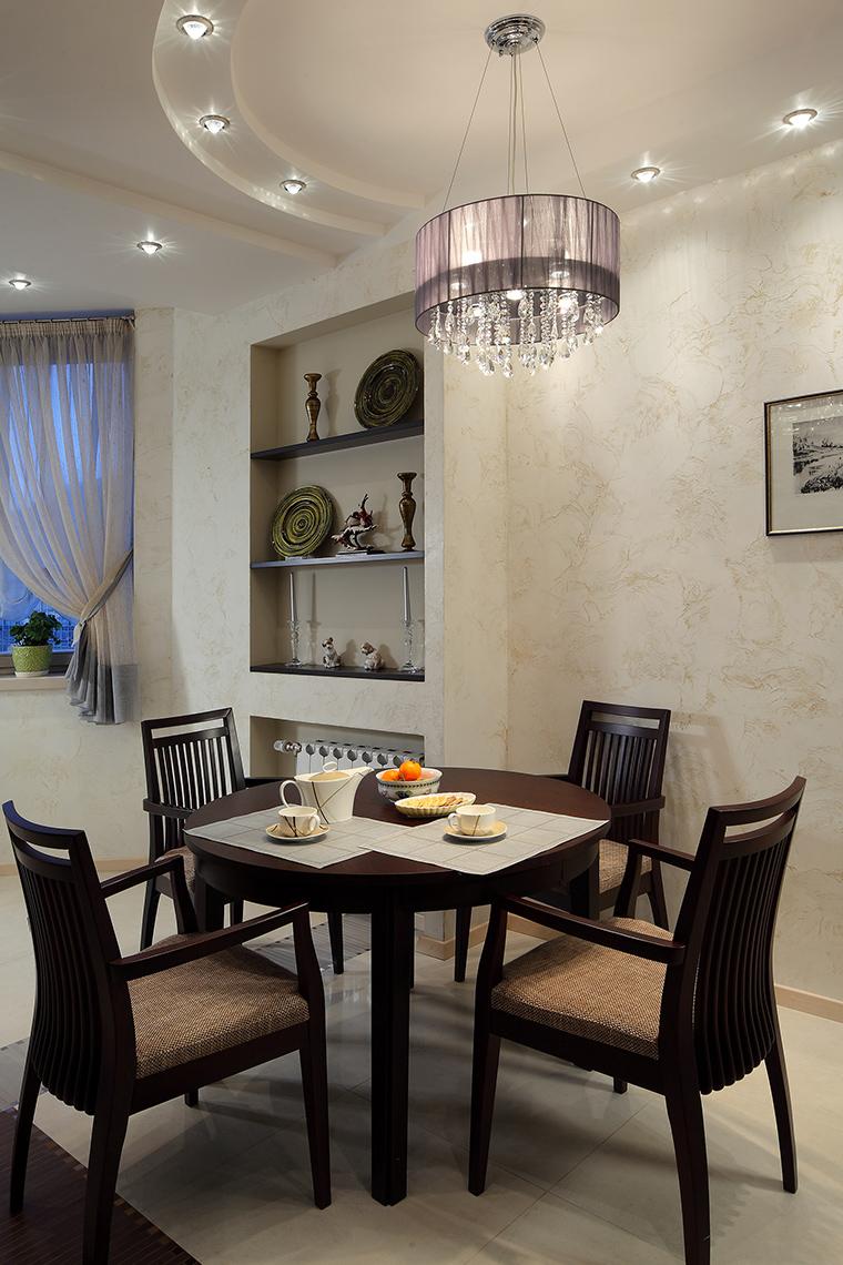 Квартира. столовая из проекта , фото №46265