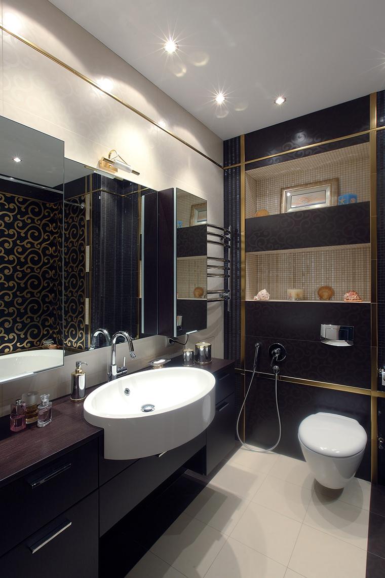 Квартира. ванная из проекта , фото №46266