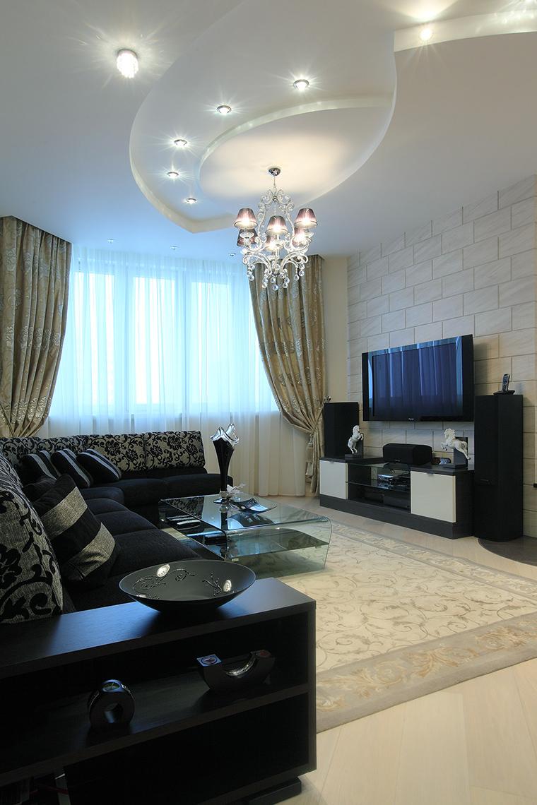 Квартира. гостиная из проекта , фото №46254