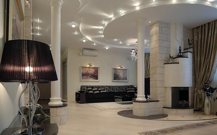 Квартира. гостиная из проекта , фото №46255