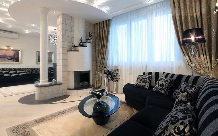 Квартира. гостиная из проекта , фото №46256