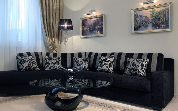 Квартира. гостиная из проекта , фото №46257