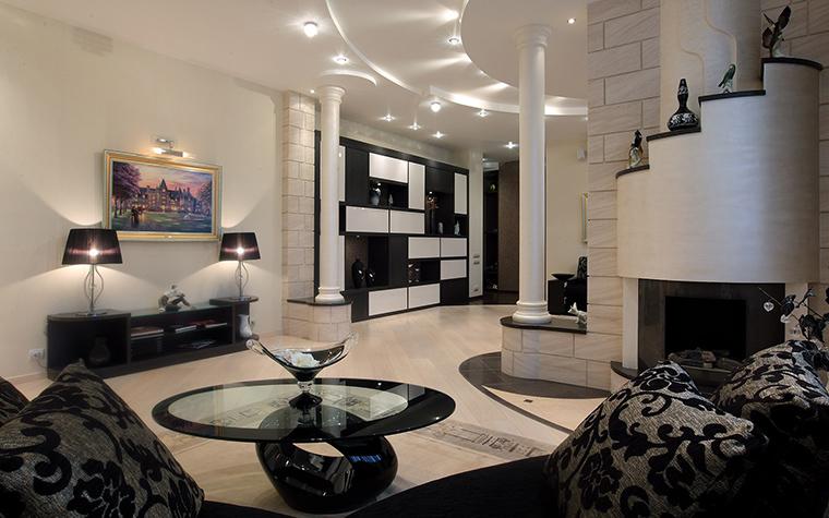 Квартира. гостиная из проекта , фото №46258