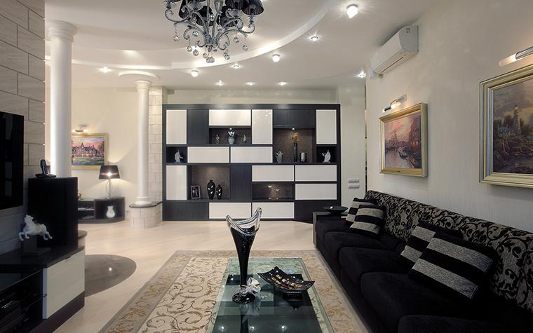 Квартира. гостиная из проекта , фото №46260