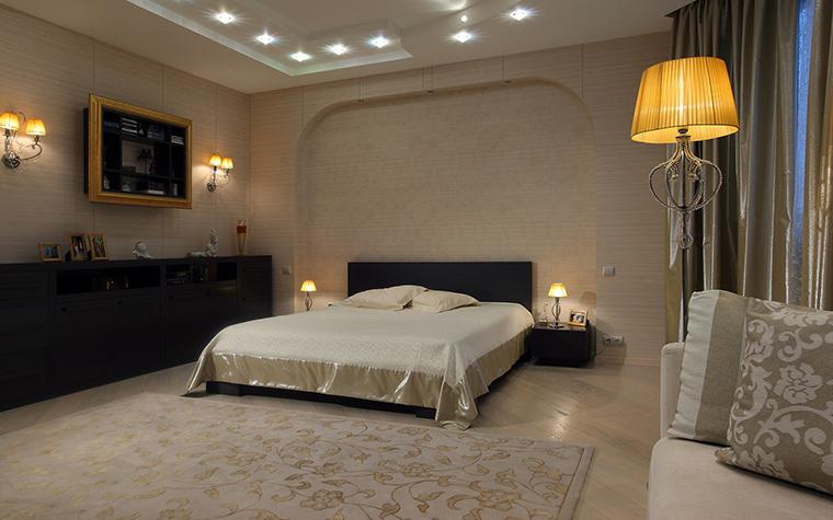интерьер спальни - фото № 46261
